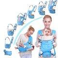 2017 Ajustável funda Portador de Bebê Respirável bebê canguru hipseat mochilas & carriers Multifunction removível mochila estilingue