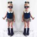 2016 Infant Girl Clothes Summer Baby Set Fashion Baby Clothing Girl Cute Newborn Baby Girl Clothes Vestido Infantil