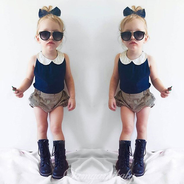 cfaf44108bc1 2016 Infant Girl Clothes Summer Baby Set Fashion Baby Clothing Girl Cute Newborn  Baby Girl Clothes