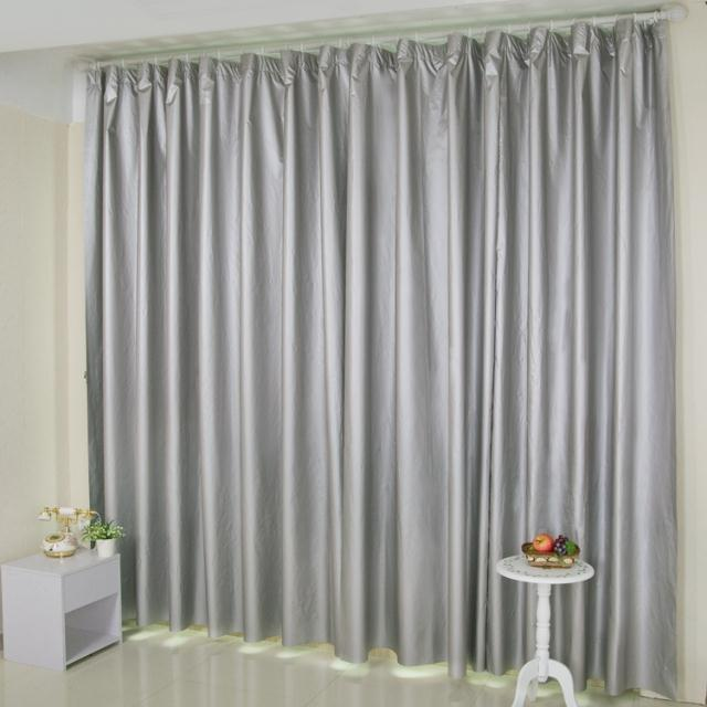 curtains for living room double silver all shading curtains washable waterproof curtains for photostudio studio in Curtains from Home Garden