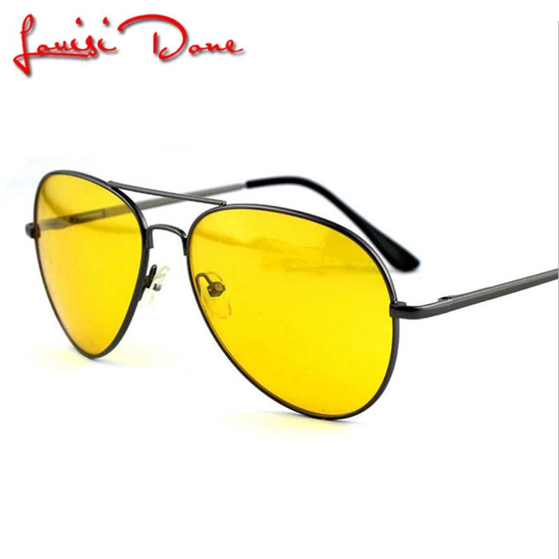 268e65639 Venda quente óculos de visão noturna óculos anti-reflexo óculos de sol  Óculos de Condução, das Mulheres Dos Homens Unisex HD Lentes Amarelas Óculos  Eyewear ...