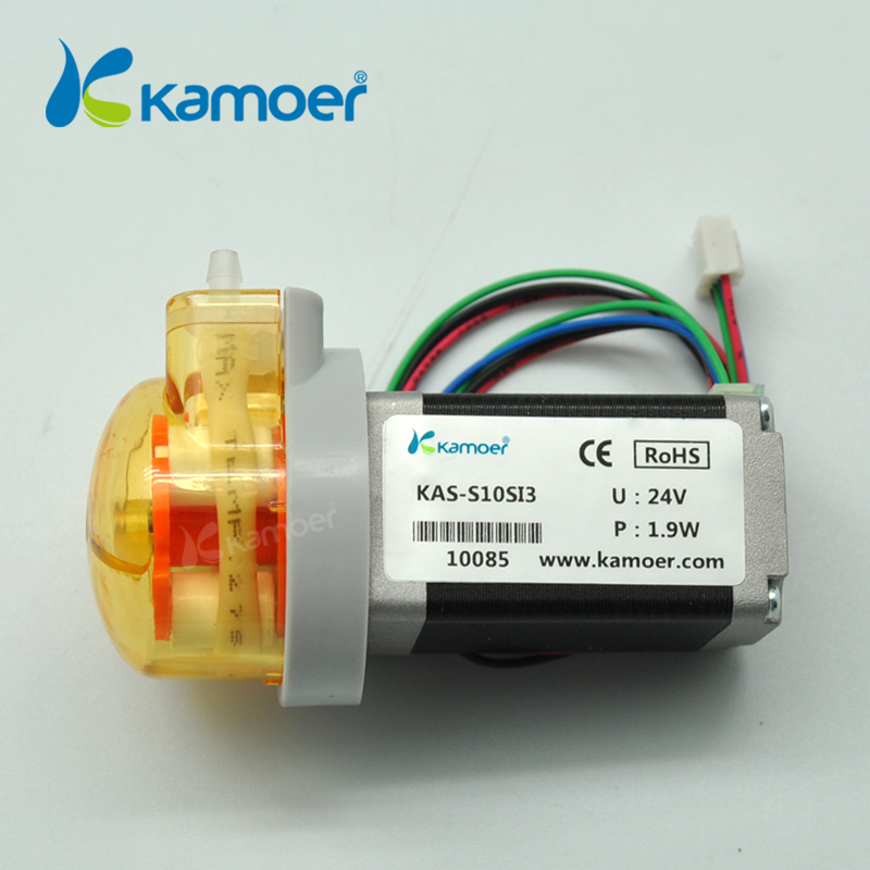 Kamoer  KAS seriser peristaltic water  pump with  stepper motor (3 rotors , max 71.5ml/min, 12V/24V stepper motor) Kamoer  KAS seriser peristaltic water  pump with  stepper motor (3 rotors , max 71.5ml/min, 12V/24V stepper motor)