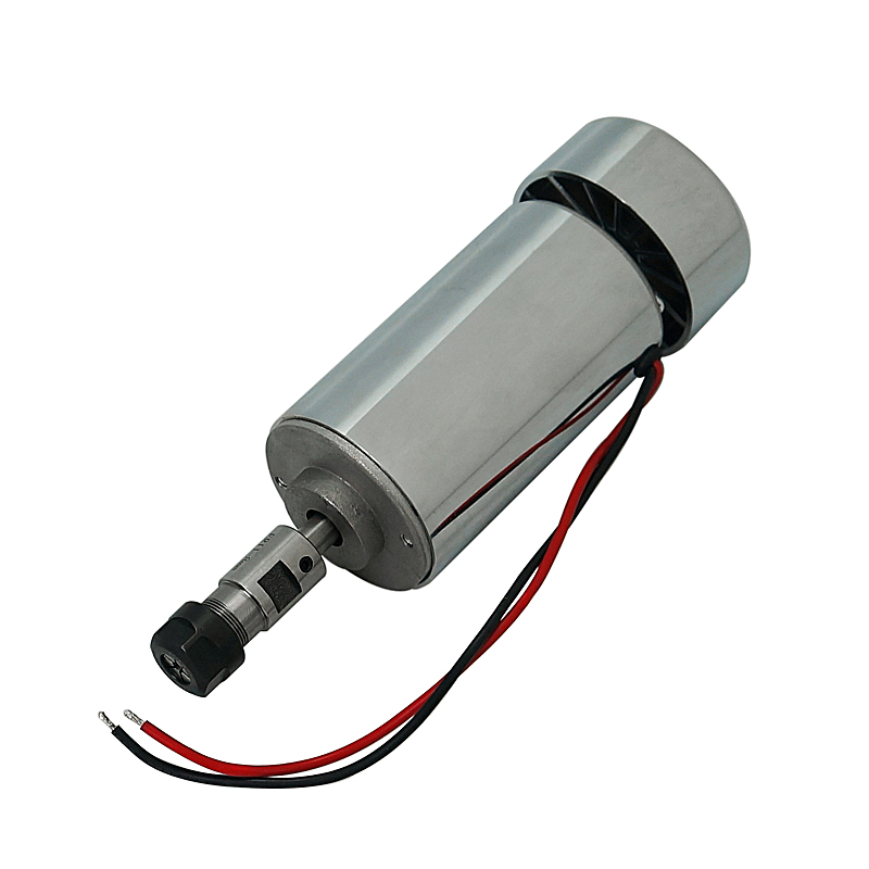 300W CNC Router DC Spindle Motor With 55MM Clamp For Cnc Engraving Machine