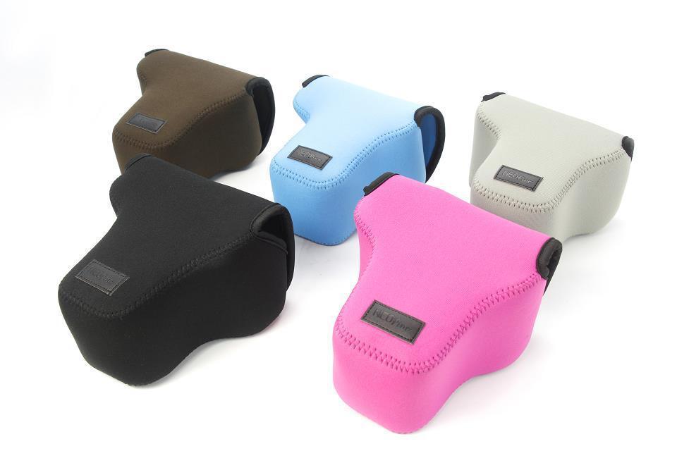 NEOPine Original Neoprene Soft Inner Camera Bag For OLYMPUS OM-D OMD EM-1 EM1 12-40 Lens EM5 12-50 Lens Camera Case Cover Pouch