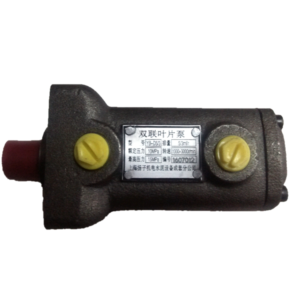 Oil Pump YB-D5/3 Double Vane Pump For Paper Cutting Machine Spare Parts YB D5/3 Oil Pump For Polar Machine