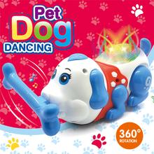 Funny Electronic Dog Pet Singing Walking Musical Pet Robot  Stunt Dog Interactive Toys For Kids Baby