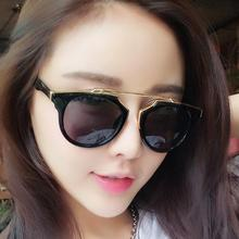 The new 2016 D home retro sunglasses Hello Lena with glasses Dazzle colour