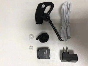 Image 4 - baofeng bluetooth walkie talkie headset earpiece  K head Wireless bluetooth ptt headset Adapter for baofeng kenwood microphone