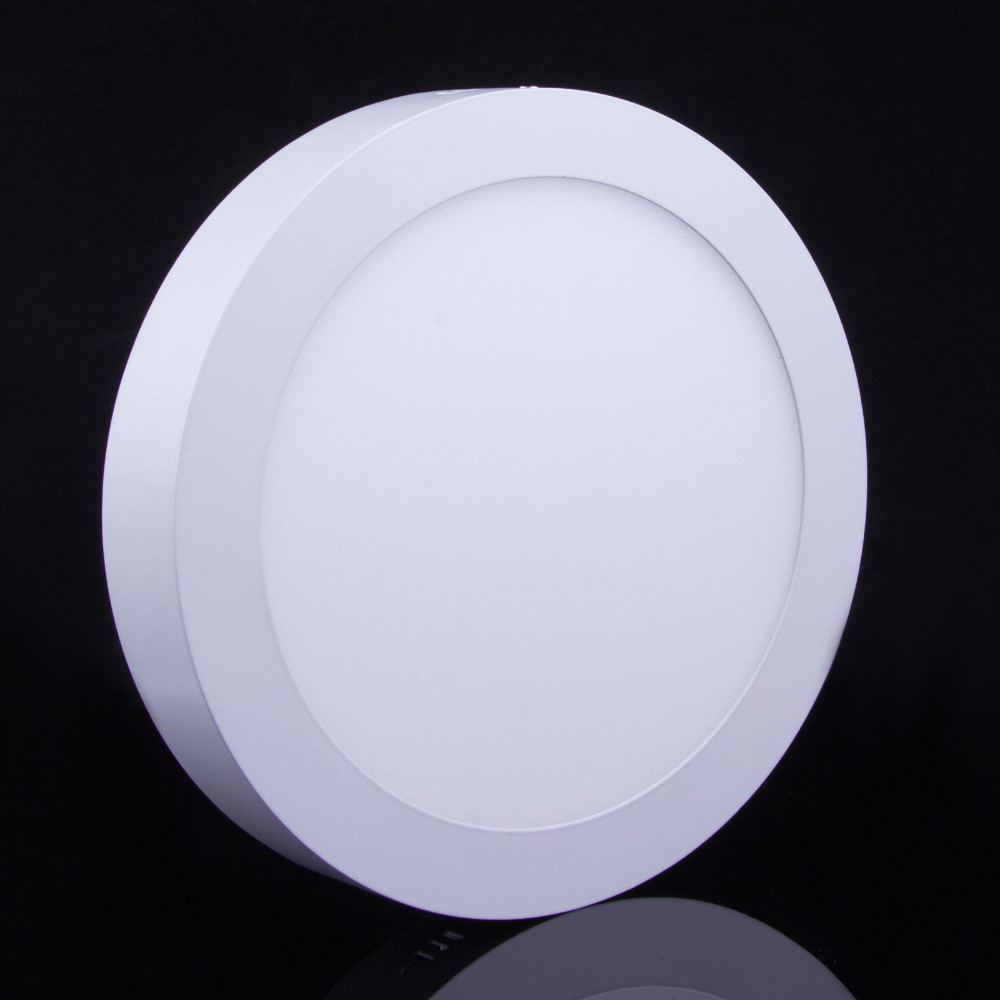 10W 15W 25W 30W Round Square Surface Mounted Dimmable LED Panel Light Down Ceiling AC 85 265V BA In Lights From