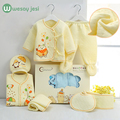 Newborn clothes 7 pieces Set Cotton spring autumn baby girl clothes Set Animal Warm Tops Pants Infant gift baby boy tracksuit