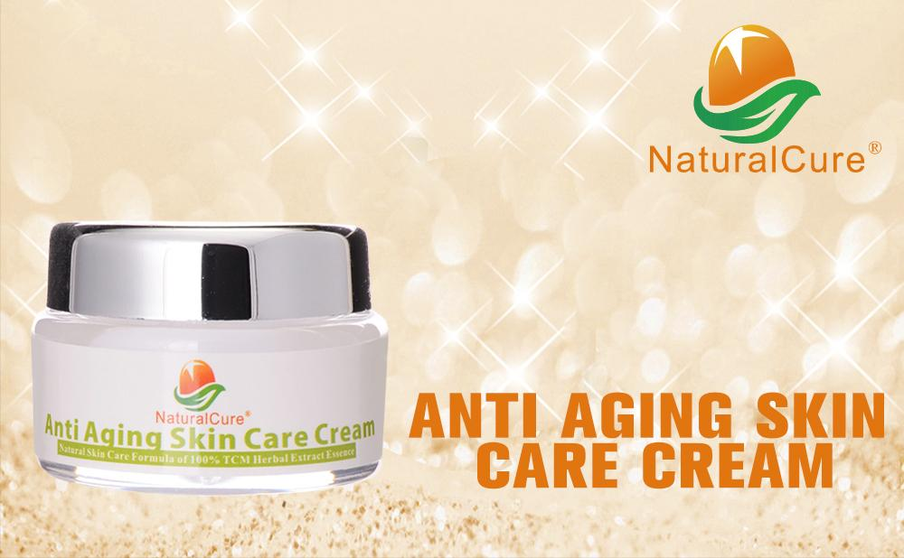 NaturalCure ANTI-AGING SKIN CARE CREAM, Rich Moisture with Natural Ingredients, Anti Aging, Smoothen Fine Wrinkles