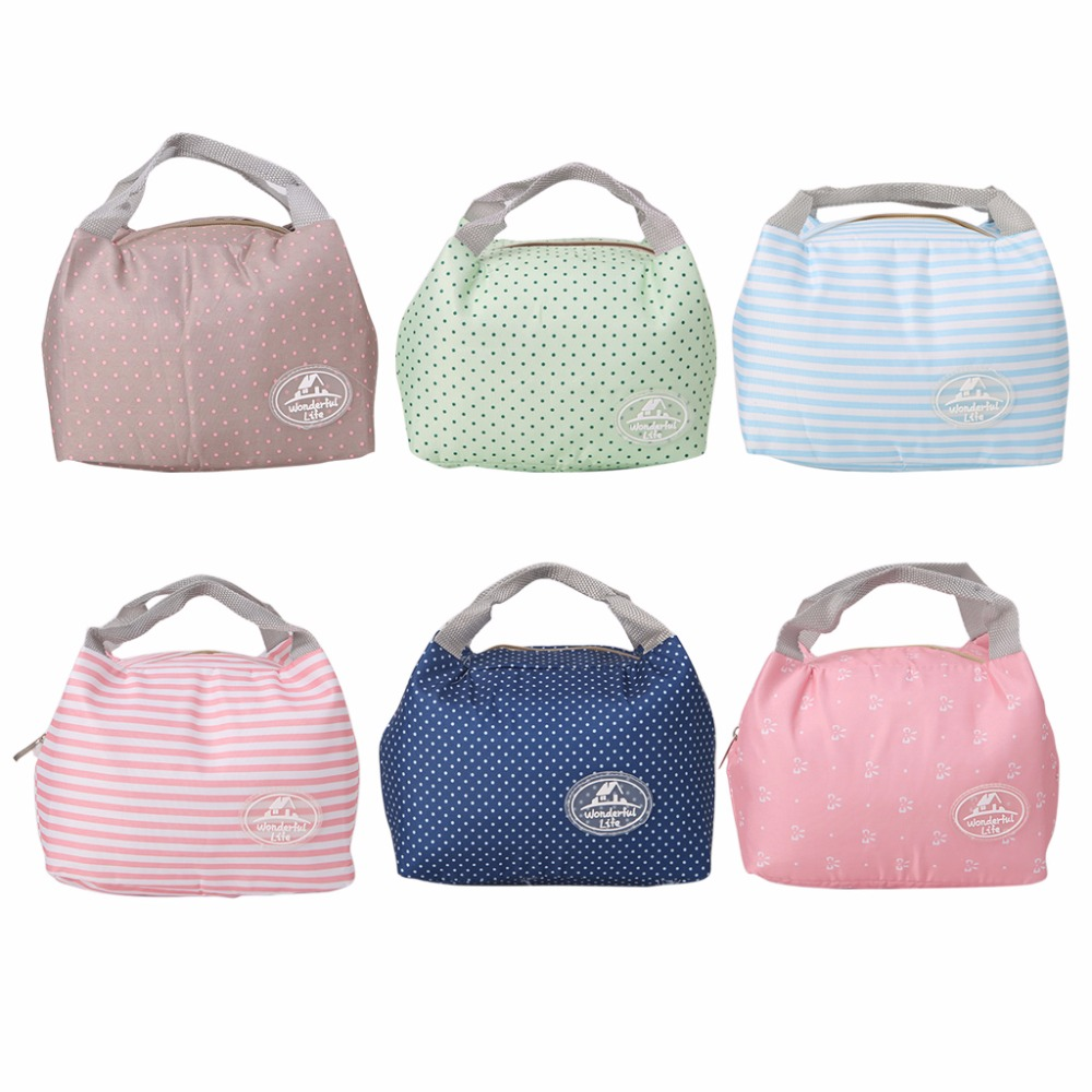 THINKTHENDO Portable Insulated Thermal Cooler Storage Bag Lunch Box Carry Food Tote Picnic Case 6 Color