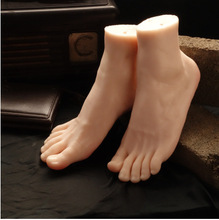 2016 Newest Big Style Male Mannequin Foot Silicone Realistic Model Hot Sale