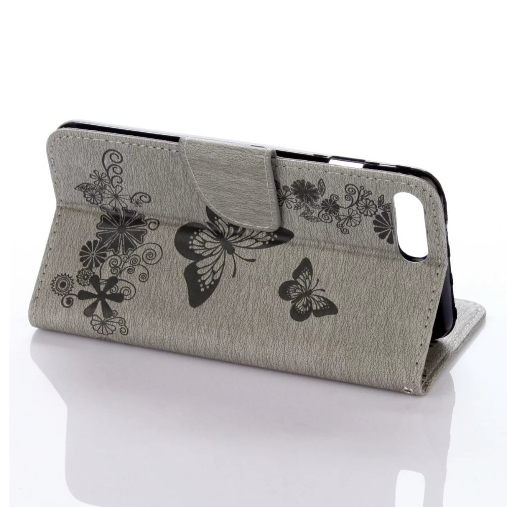 FULAIKATE Funda de cuero con relieve para iPhone6 6s Funda con - Accesorios y repuestos para celulares - foto 6