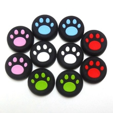 2PCS for playstation 4 cat paw thumbstick joystick cover grips caps skin for ps3 ps4 XBOX 360 one Free shipping