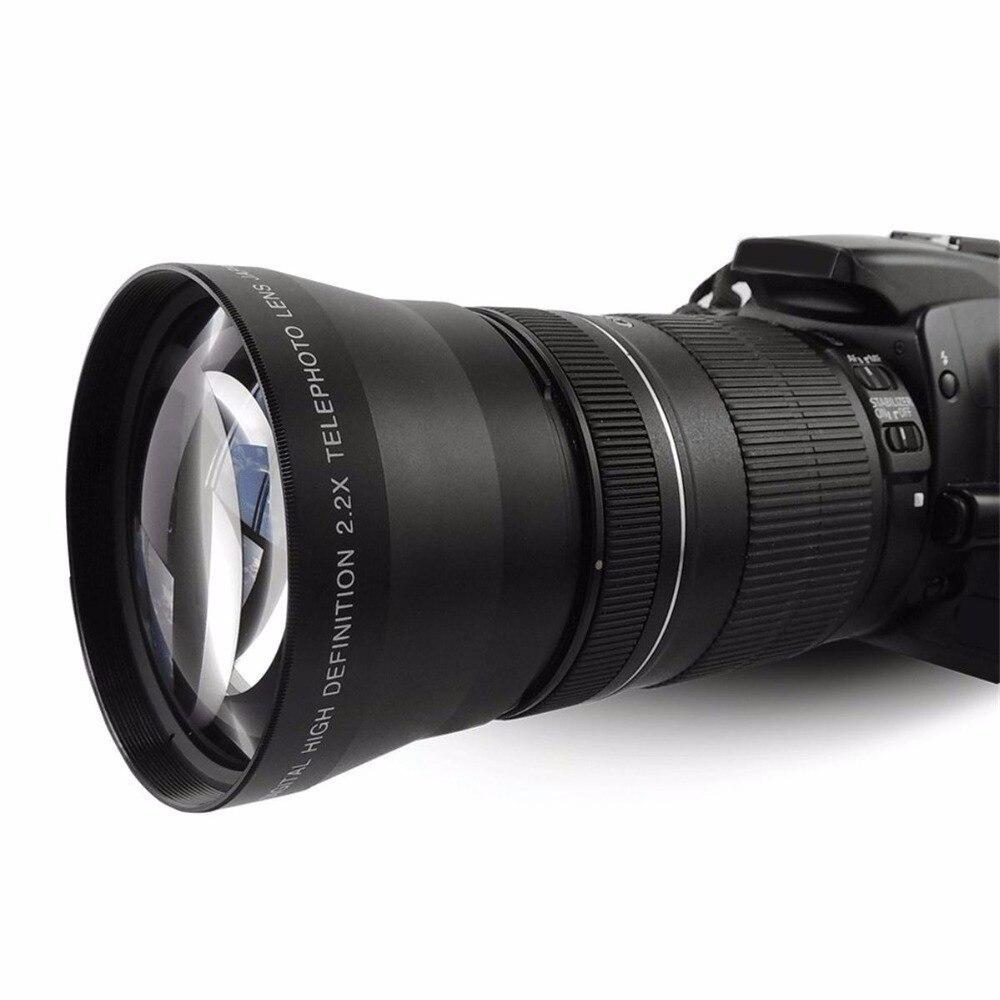 67MM 0.43X široki Angel & makro objektiv + 2.2X telefoto objektiv za - Kamera i foto - Foto 6