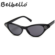 Belbello Transparent Sunglasses Women Color Solid Fashion Sunglasses Model Popular Trend Characteristic Crystal Sunglasses Men все цены