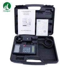 Высокоточный цифровой анемометр расходомер AVM-05 диапазон измерения 0,0~ 45,0 м/с