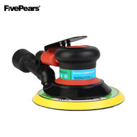 FIVEPEARS Wholesale Free shipping  6 Inches air Sander with Vacuum 150mm Pneumatic Sander 6