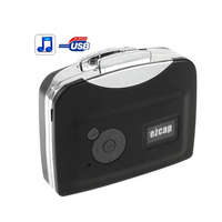 Portable Cassette Tape To MP3 Format USB Flash Thumb Drive Converter Adapter Player Capture Ezcap230