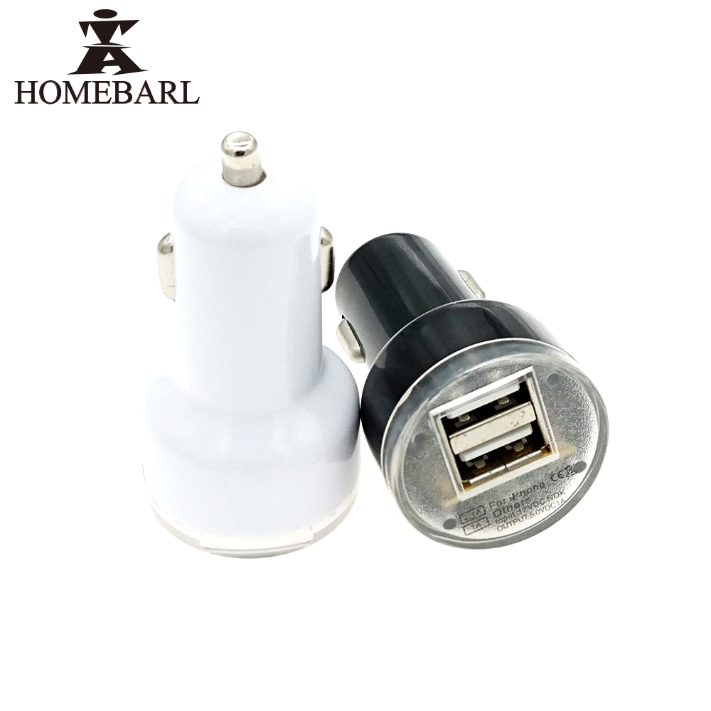 5v Usb Charger Circuit Cell Phone Battery Homebarl Universal Dual Car Mini Micro Auto 21a 1a Adapter Short Protection