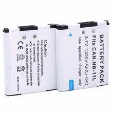 NB 11LHNB 11L batterij Voor Canon NB 11L PowerShot ELPH SX420 is, 170 is, 160, 150 is, 140 is, 135, SX400 IXUS 285 275