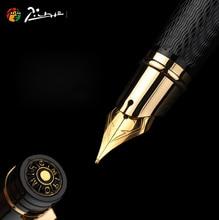 Pimio picasso caneta fonte picasso ps 917 clipe de ouro prata estudante professor negócios estilo romano caixa de presente embalagem frete grátis