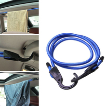 1 Pcs 1.5m Universal Car Interior Accessories Adjustable Elastic Rope Fixed Rear Trunk Straps Clothing Hook Strong Plasticity