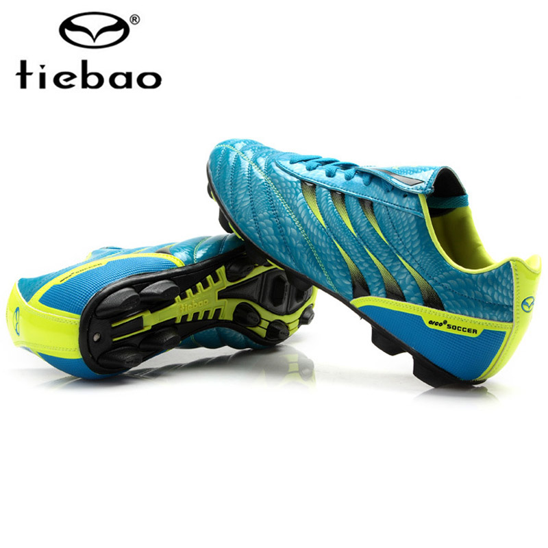 Tiebao Mens Football Boots Cleats Long Spikes FG Men Soccer Boots Outdoor Training Shoes Chuteira Futebol Sport Football Shoes tiebao athletic high quality football boots cleats soccer shoes mens football cleats outdoor football shoes football shoes 1050d
