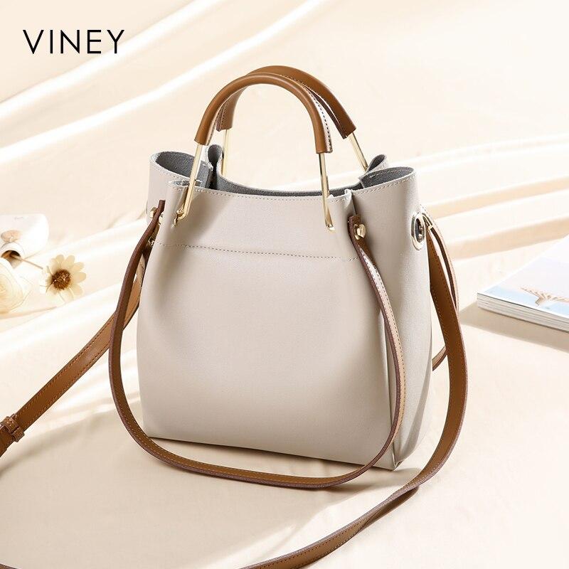 Viney Bucket Bag Woman 2019 New Chao Korean Version Baitao Slant Bag Woman Bag Fashion Simple