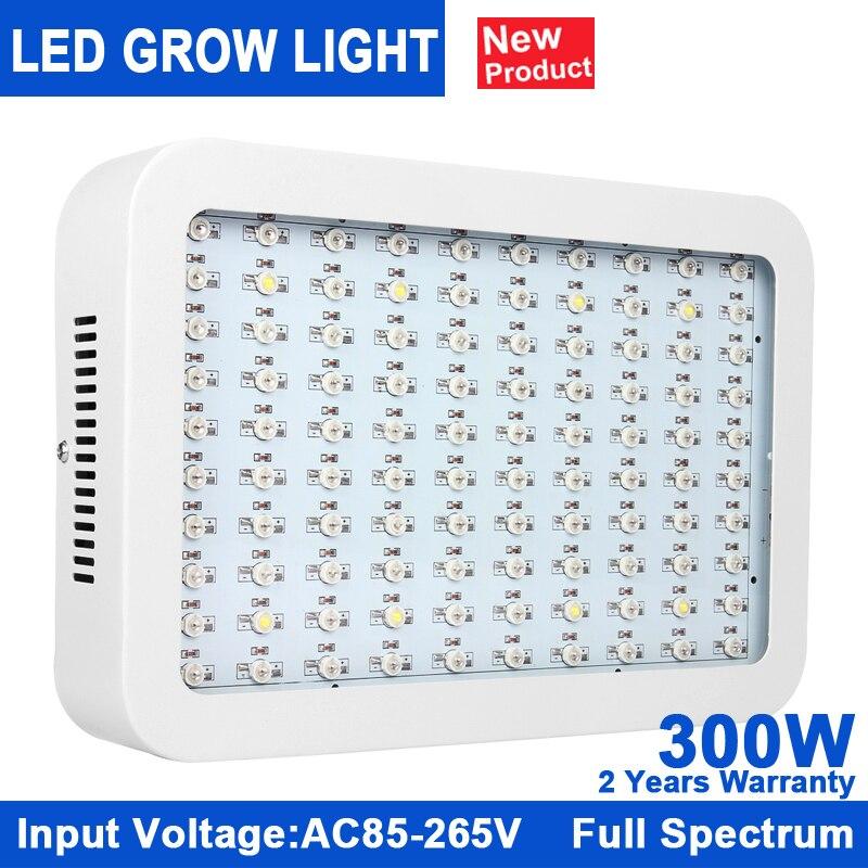 KINDOMLED 1pcs 300W Led Grow Light Full Spectrum Led Plant Growth Lamp 380 840nm For Greenhouse