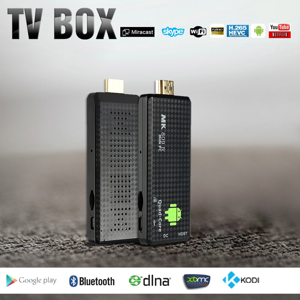 Superior Quality High Definition MK809IV 1G 8G Android 5 1 TV Dongle Box Quad Core Mini