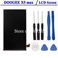 Doogee x5 max lcd pantalla perfecta pantalla de reparación de piezas para doogee x5 max pro + herramientas