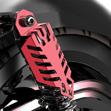 1 Pair Aluminium Motorcycle Dirt Protect Fork Dust Shock Absorber Spring Covers For Yamaha Motor Scooter ATV Quad стоимость