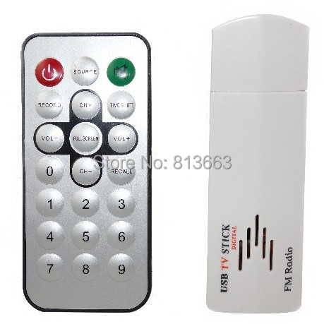 USB TV Stick USB 2.0 Analog TV Receiver Dongle Tuner Sticker for PC Laptop FM Radio & Analog TV Tuner Cheap