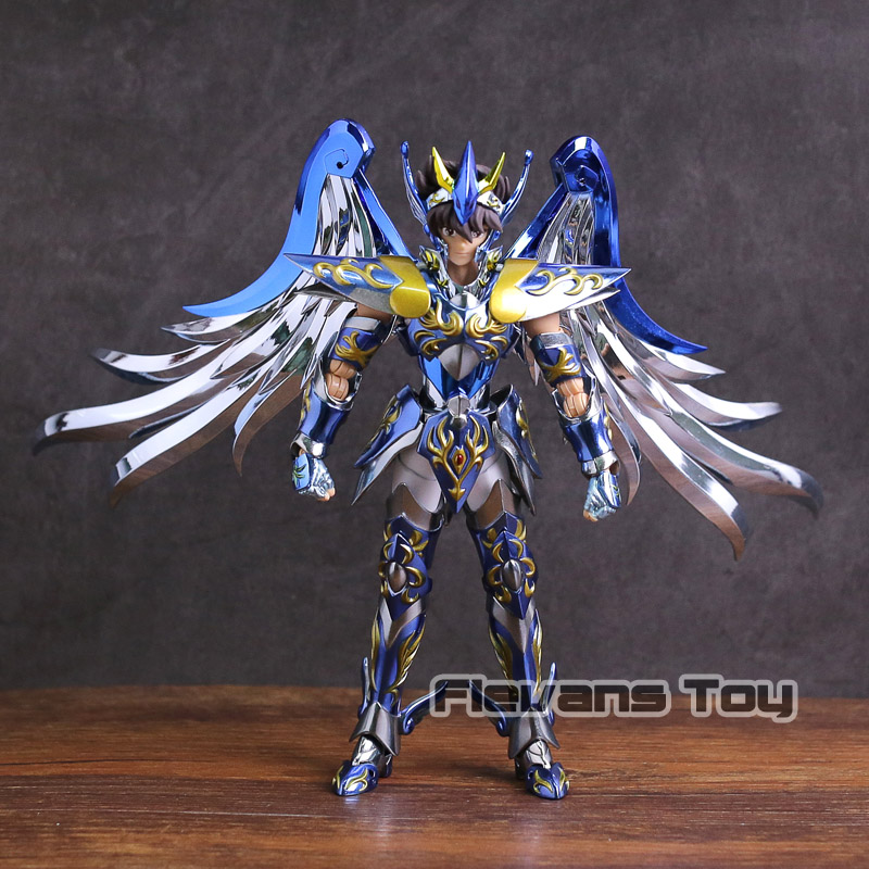 Great Toys GT EX Pegasus 10th Anniversary Saint Seiya Soul of Gold SOG V4 Metal Armor Myth Clot Action Figure Model Toy bracket model soul bracket stand for stage act robot saint seiya toy figure t026