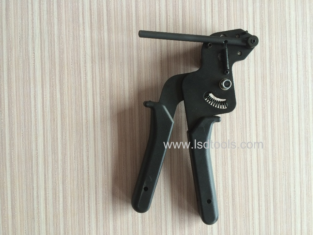 Купить с кэшбэком LSD High Quality Stainless Steel  Cable Tie gun fasten tensioning tool LS-600R