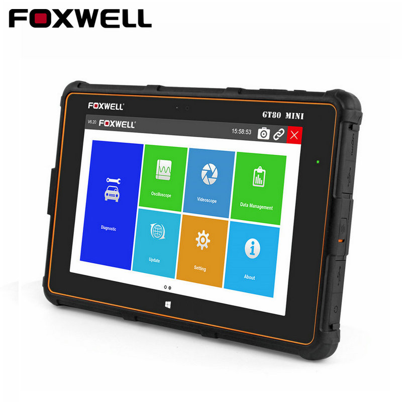 Foxwell GT80 MINI Professional Diagnostic Tool Full Systems Car OBD Injector Coding DPF ABS AirBag SRS