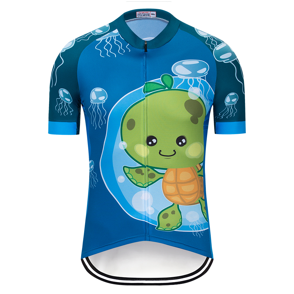 2019 Mens Biking Jersey Ropa Ciclismo Bike Quick Sleeve Clothes Bicycle Sports activities Shirts Prime Cartoon Biking Jerseys, Low-cost Biking Jerseys, 2019 Mens Biking Jersey Ropa Ciclismo Bike Quick...
