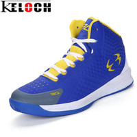 Keloch New Hot Style Unisex Basketball Shoes Pu Leather Waterproof Men Women Basketball Boots Outdoor Comfortable