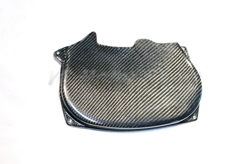 Car Accessories Carbon Fiber Cam Gear Belt Cover Fit For 1996-2005 EVO 4 5 6 7 8 4G63 CT9A Engine Cam Cover vr racing hnbr racing timing belt aluminum cam gear clear cam cover for mitsubishi lancer evolution evo 9 ix mivec 4g63