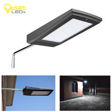 Super Bright Solar Light 108LED 2100LM With Radar Motion Sensor Wireless Solar Panel Lamp Street Lights For Outdoor Lighting by dhl new solar street light outdoor led solar lamp waterproof security radar motion sensor 2100lm garden lighting super bright