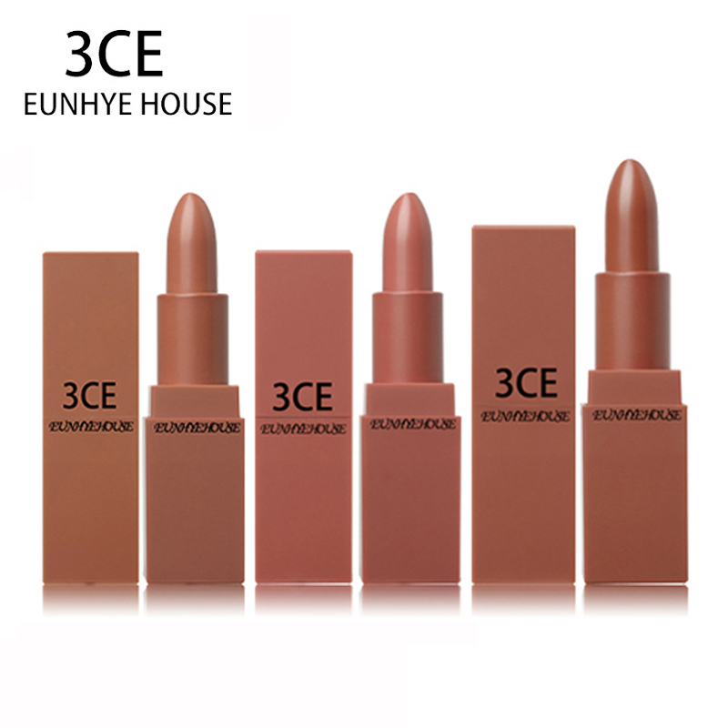 3CE EUNHYE HOUSE 5 colors in a lipstick set Soft Glossy Shimmering Waterproof lip balm make up easy to wear matte lipsticks