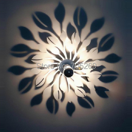 Lily flower Wall lamp shadow modern bedside wall lamp aisle hall decorated children's room lamp modern lamp trophy wall lamp wall lamp bed lighting bedside wall lamp