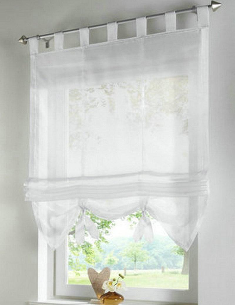 заводская цена цвет Tab топ кухня балкон вуаль римские шторы