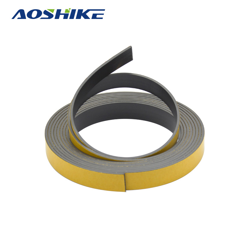 1pcs 3M Magnetic Stripe 15*2MM Rubber Magnets Paste Sided Adhesive Can Cut All Kinds Of Shapes DIY Magnetic Tape For School Home new 3 meter 12 7 x 1 5mm self adhesive rubber magnetic tape magnet strip strong suction can cut a variety of shapes diy