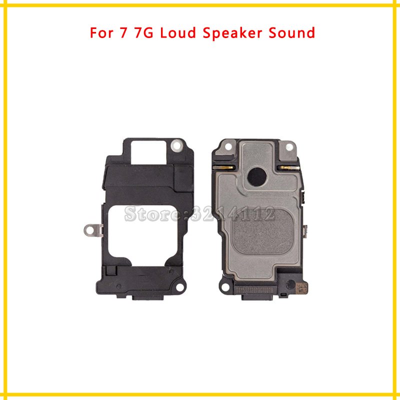 AnnFlat 50Pcs/lot High Quality Sound Buzzer Loud Speaker Flex Cable For iphone 7 7G and 7 Plus Repair Parts Free shipping