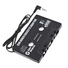 Новейший автомобильный Кассетный адаптер Кассетный Mp3 плеер конвертер 3,5 мм разъем для iPod для iPhone MP3 AUX кабель CD плеер