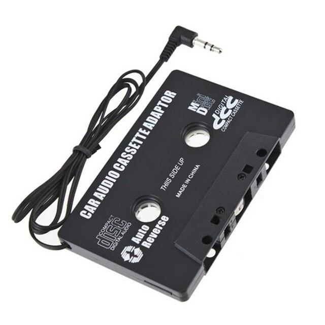 Najnowszy kaseta samochodowa kaseta Adapter kaseta odtwarzacz Mp3 konwerter 3.5mm wtyczka Jack dla ipoda dla iPhone MP3 AUX kabel odtwarzacz CD