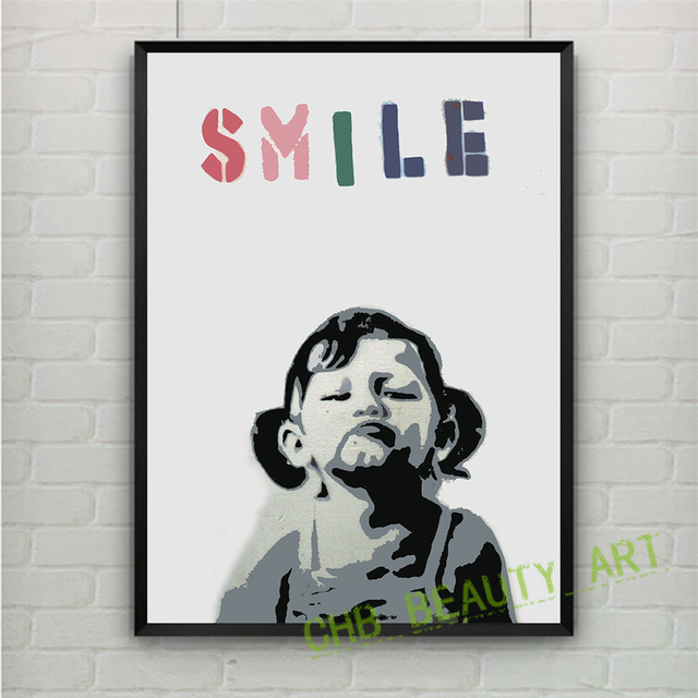 Smiley Pop Art Canvas Print The Art Group Wall Art